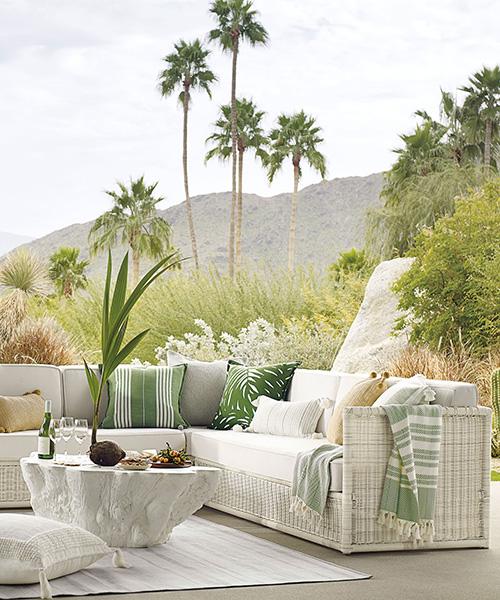 Pacifica Wicker Outdoor Sofa