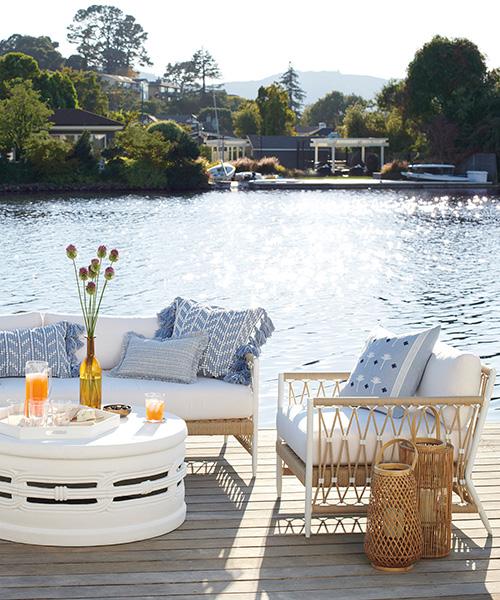 Salt Creek Outdoor Waterproof Lounge Chair
