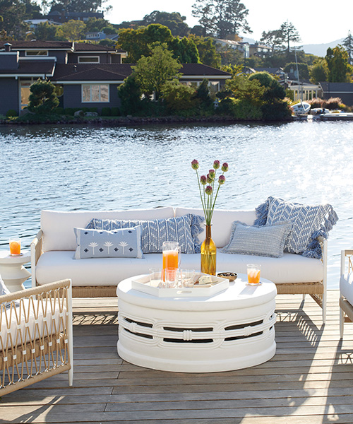 Salt Creek Outdoor Waterproof Sofa