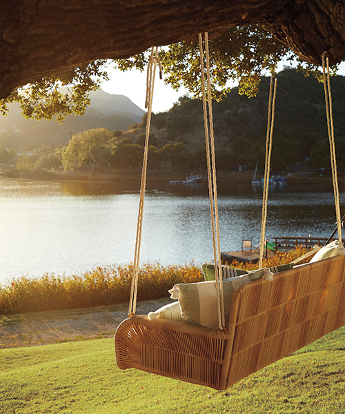 Outdoor Hanging Daybed