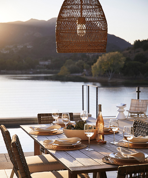 Summerland Outdoor Bell Coastal Pendant