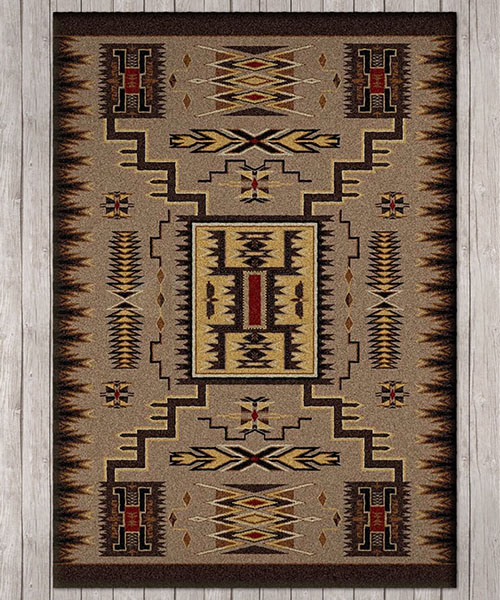 Storm Catcher Navajo Area Rug