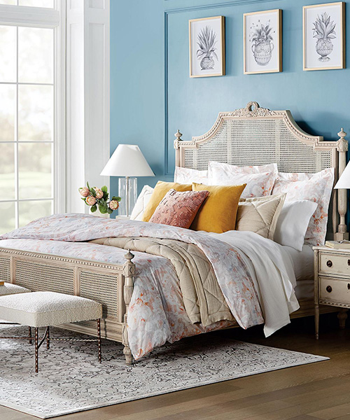 Avola Damask Designer Bedding