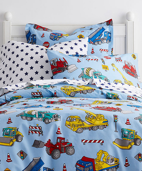 Construction Truck Bedding