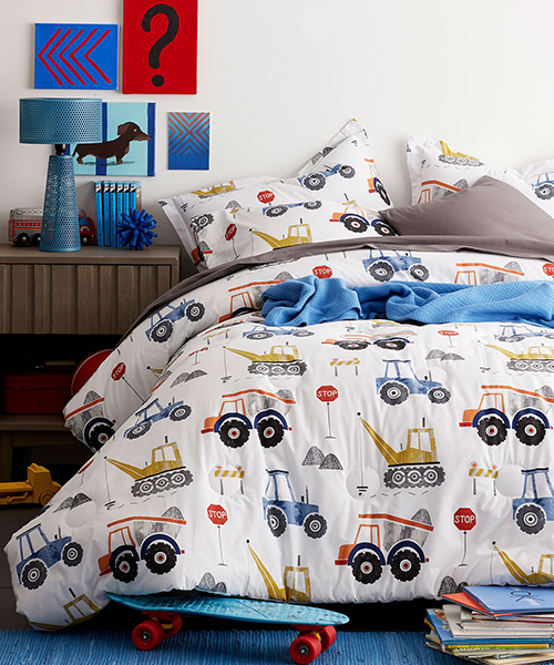 Construction Zone Bedding