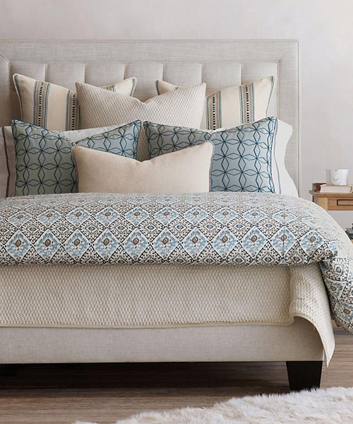 Eastern Accents Emerson Luxury Ikat Bedding