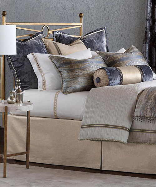 Eastern Accents Imogen Metallic Luxury Bedding