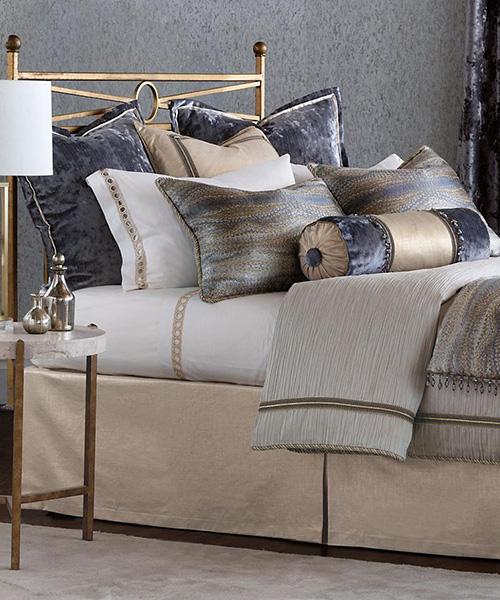 Eastern Accents Imogen Metallic Luxury Bedding