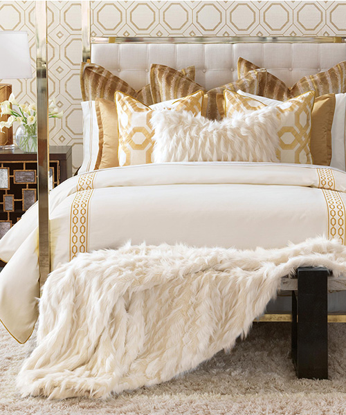 Eastern Accents Luxe Bedding Collection