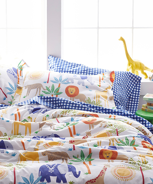 Kids Jungle Safari Bedding