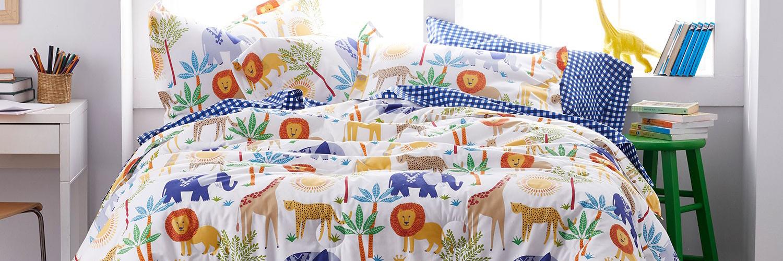 Kids Safari Bedding