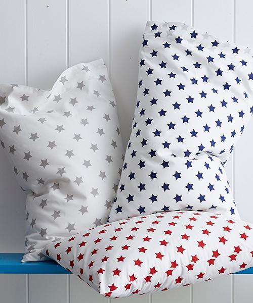 Star Percale Bedding