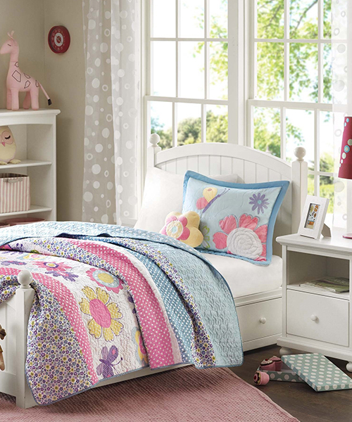 Childrens Butterfly Bedding Set