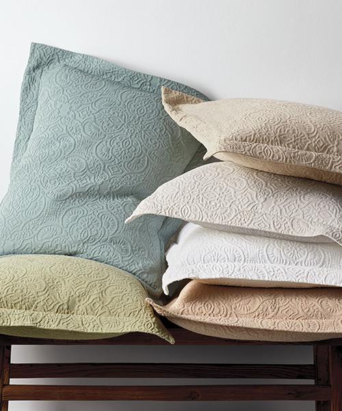 Cotton Matelasse Coverlet