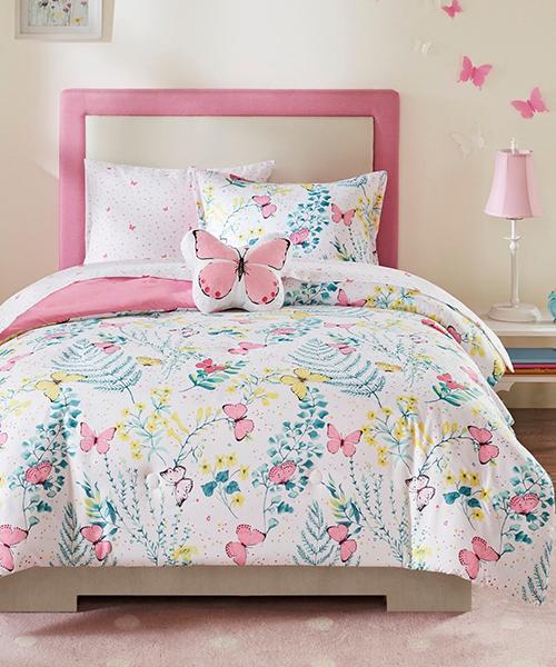 Kids Butterfly Comforter
