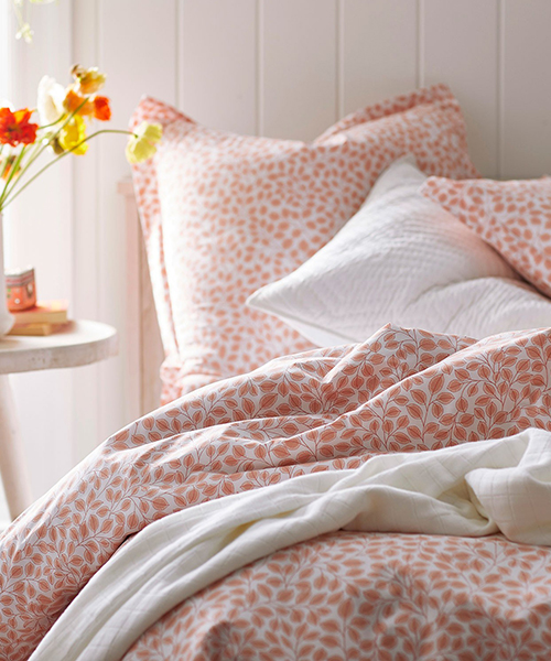 Kirby Leaf Duvet Cover