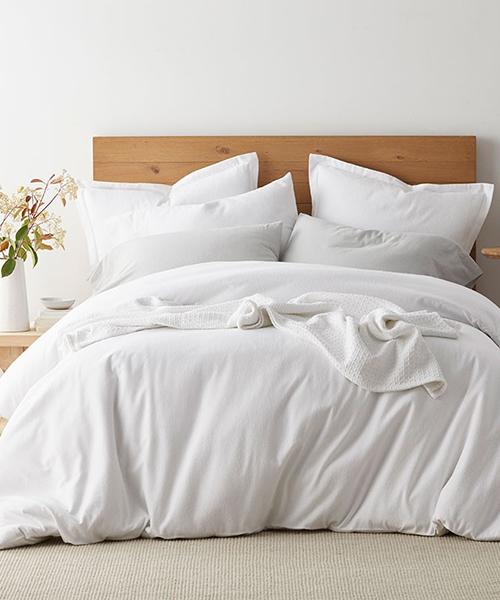 Organic Cotton Flannel Duvet Cover