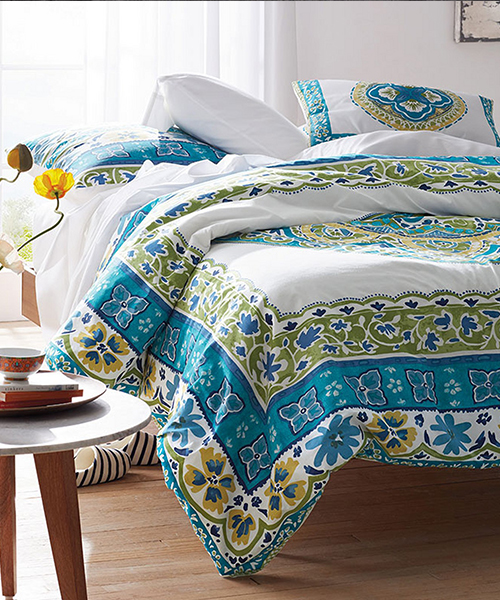Positano Cotton Duvet Cover