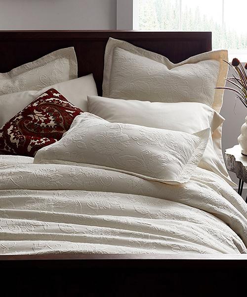 Neutral Coverlet Blanket