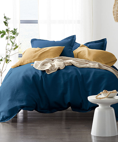 Relaxed Linen Duvet Cover
