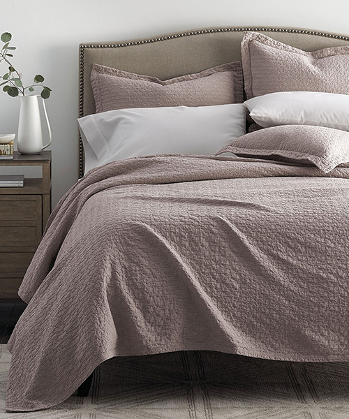 Stonewashed Coverlet