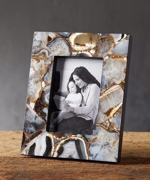 Rustic Agate Frame