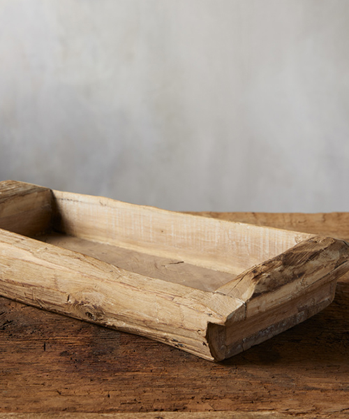 Artisan Wood Tray