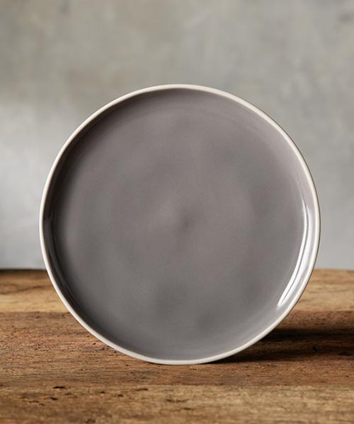 Avignon Grey Polished Salad Plate