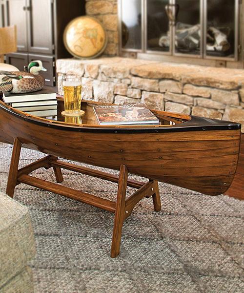 Canoe Coffee Table