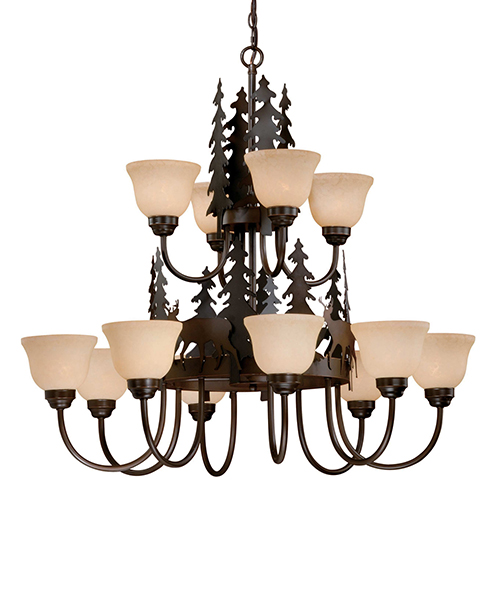Canyon Rustic Chandelier