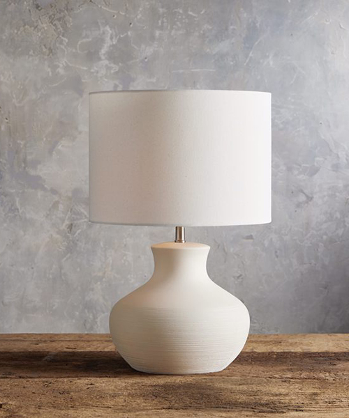 Carlo Modern Rustic Table Lamp