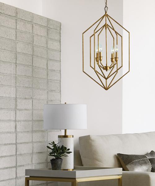 Caseti Marble Base Table Lamp