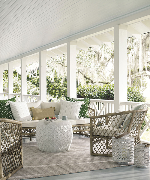 Coastal Outdoor Side Table