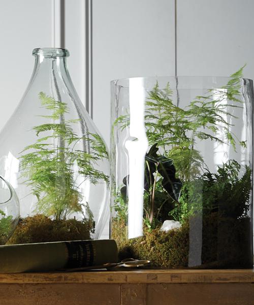 Cylinder Glass Vase
