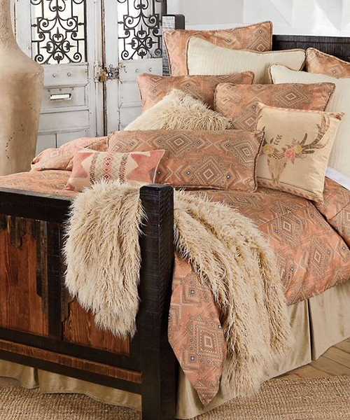Desert Rose Cowgirl Bedding