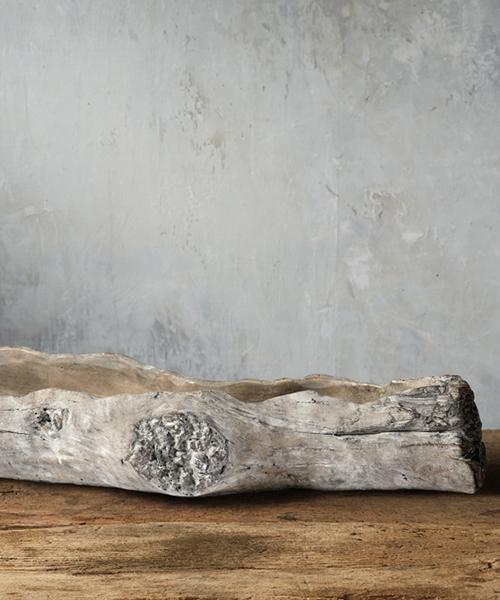 Driftwood Log Centerpiece