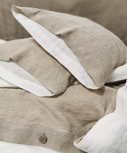 Farmhouse Linen Bedding