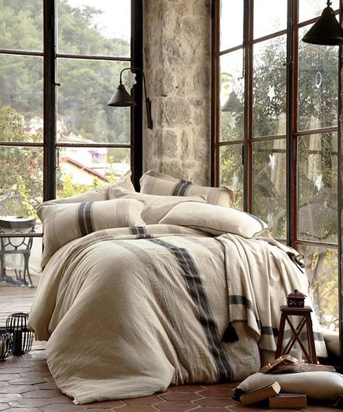 Farmhouse Linen Duvet Cover