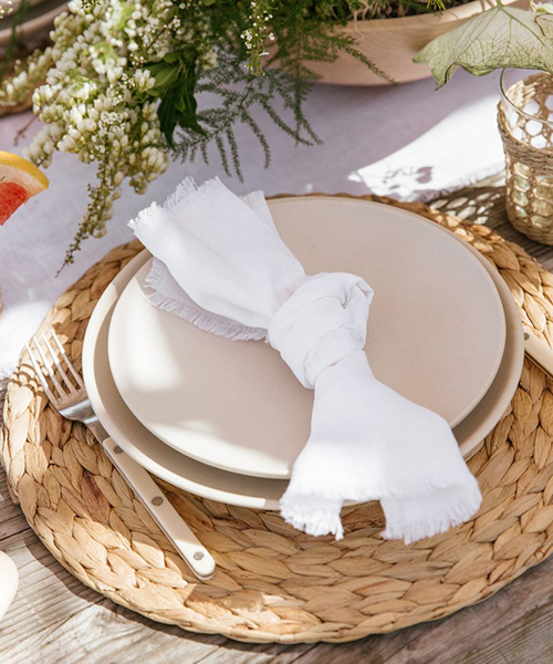 Farmhouse Linen Napkins