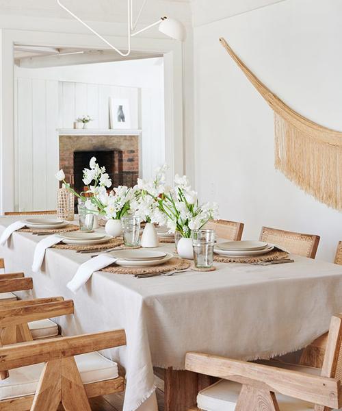 Farmhouse Linen Tablecloth