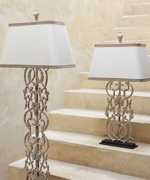 Fielding Rustic Elegant Table Lamp