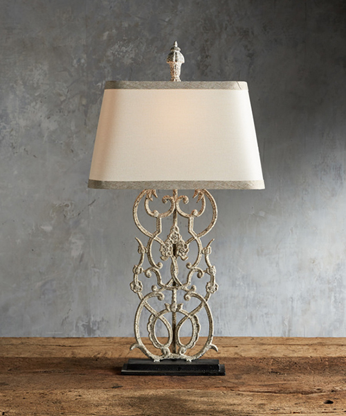 Fielding Rustic Elegant Table Lamp