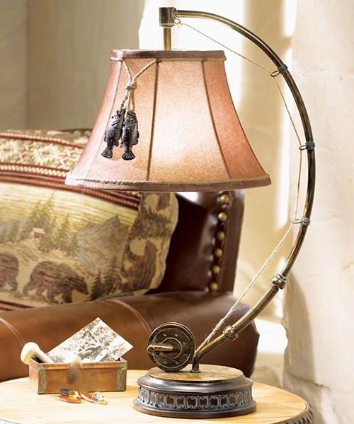 Fishing Reel Table Lamp