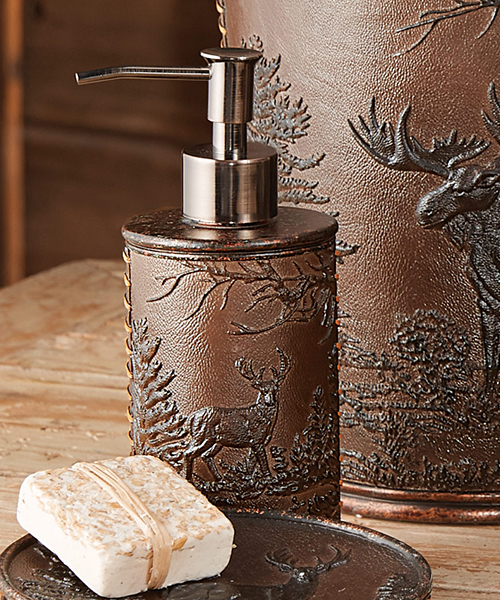 Forest Wildlife Lotion Pump