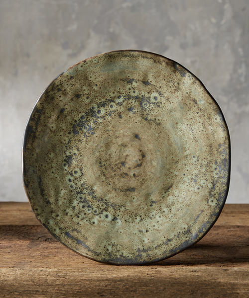Gallatin Rustic Green Dinner Plate