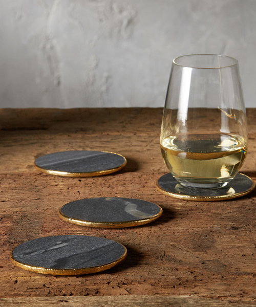 Rustic Marble Coasters