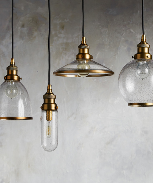 Industrial Brass Lighting