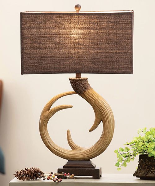 Infinity Antler Table Lamp