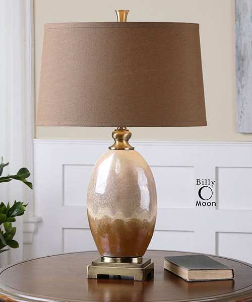 Antiqued Rustic Lamp