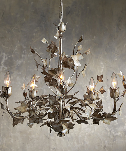 Ivy Small Iron Chandelier
